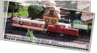 Click on Model Train Side Tear Personal Checks For More Details