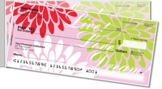 Click on Mums in Bloom Side Tear Personal Checks For More Details