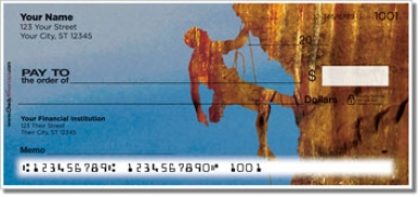 Click on Rock Climber Personal Checks For More Details