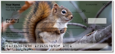 Click on Woodland Creature Personal Checks For More Details