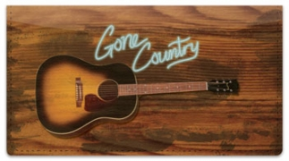 Click on Gone Country Checkbook Cover For More Details