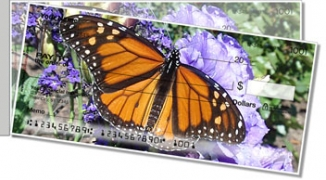 Click on Milkweed Butterfly Side Tear Personal Checks For More Details