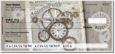 Click on Steampunk Personal Checks For More Details