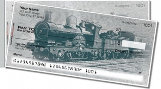 Click on Vintage Train Side Tear Personal Checks For More Details