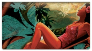 Click on Tropical Girl Checkbook Cover For More Details