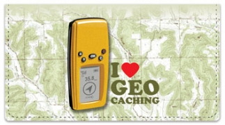Click on Geocaching Checkbook Cover For More Details