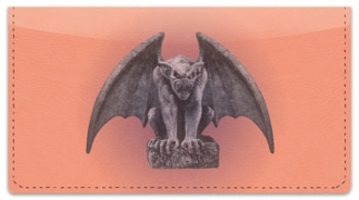 Click on Gargoyle Checkbook Cover For More Details