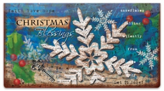 Click on Folk Christmas Checkbook Cover For More Details