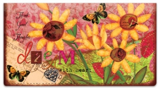 Click on Inspired Wings Checkbook Cover For More Details