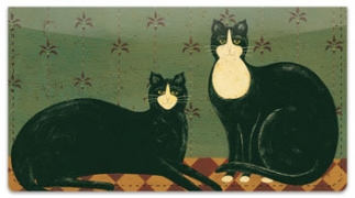 Click on Kimble Cat Checkbook Cover For More Details