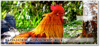Click on Rooster & Hen Personal Checks For More Details