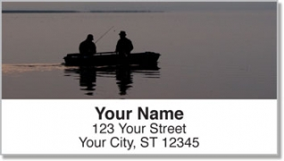 Click on Gone Fishing Address Labels For More Details