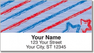 Click on Stars & Stripes Address Labels For More Details