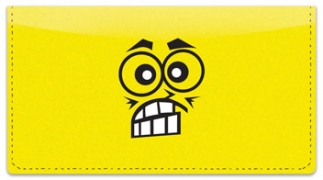 Click on Funny Face Checkbook Cover For More Details