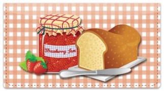 Click on Fruit Jam Checkbook Cover For More Details