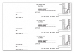 Click on 3-On-A-Page Deposit Slips For More Details