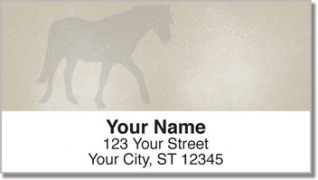 Click on Horse Silhouette Address Labels For More Details