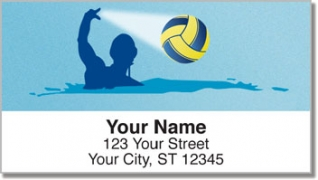 Click on Water Polo Address Labels For More Details