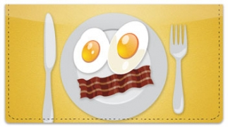 Click on Food Face Checkbook Cover For More Details