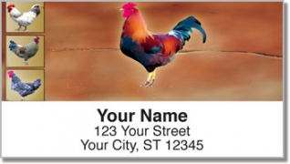 Click on Rooster Address Labels For More Details