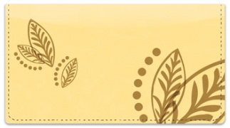 Click on Flower Tattoo Checkbook Cover For More Details
