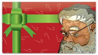 Click on Father Christmas Checkbook Cover For More Details