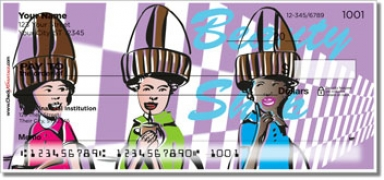 Click on Beauty Shop Personal Checks For More Details