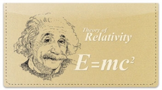 Click on Famous Scientist Checkbook Cover For More Details