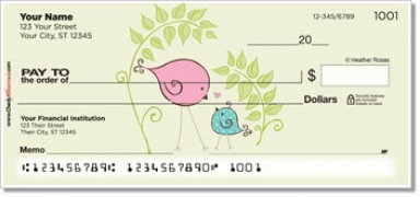 Click on Bird Garden Personal Checks For More Details