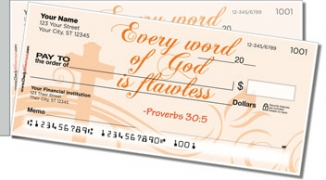 Click on Bible Verse Side Tear Personal Checks For More Details
