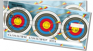 Click on Archery Side Tear Personal Checks For More Details
