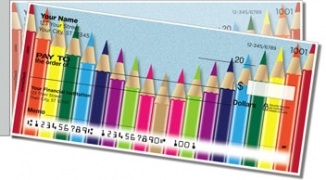 Click on Colored Pencil Side Tear Personal Checks For More Details