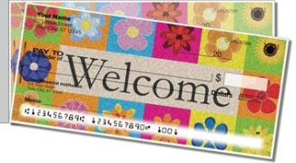 Click on Welcome Mat Side Tear Personal Checks For More Details