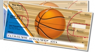 Click on Blue & Orange Basketball Side Tear Personal Checks For More Details