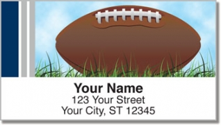 Click on Blue & Silver Football Fan Address Labels For More Details