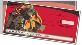 Click on Firefighter Hero Side Tear Personal Checks For More Details