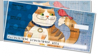 Click on Fat Cat Side Tear Personal Checks For More Details
