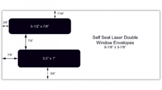 Learn more about Self Seal Laser Check Envelopes