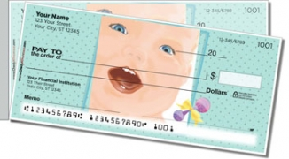 Click on Cute Baby Side Tear Personal Checks For More Details