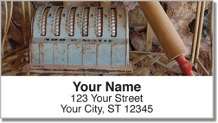 Click on Antique Tool Address Labels For More Details