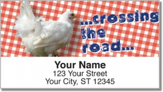 Click on Chatty Chicken Address Labels For More Details