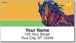 Click on Evans Horse Address Labels For More Details