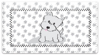 Click on Cute Cat & Dog Checkbook Cover For More Details