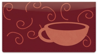 Click on Cup of Coffee Checkbook Cover For More Details
