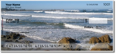 Click on Ocean Wave Personal Checks For More Details