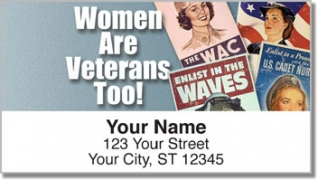 Click on Woman Veteran Address Labels For More Details