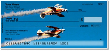 Click on Aerobatic Air Show Personal Checks For More Details