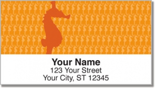 Click on Fish Pattern Address Labels For More Details