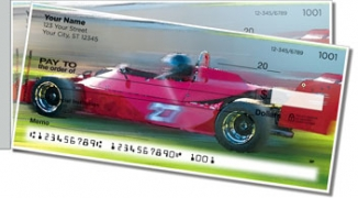 Click on Car Racing Side Tear Personal Checks For More Details