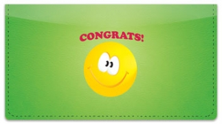 Click on Congratulations Checkbook Cover For More Details